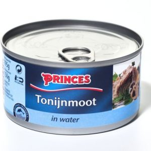Sample Princes tonijnmoot in water (195gr)