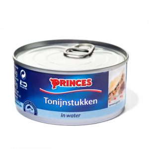 Sample Princes tonijnstukken in water (185gr)