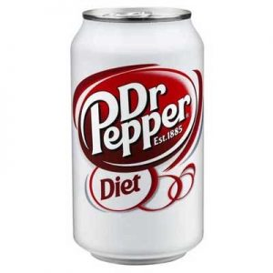 Dr Pepper Diet Soda (355ml)
