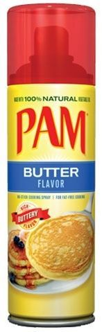 PAM Cooking Spray - Butter Flavour-0