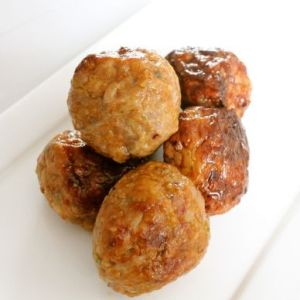 Sample chicken meat-balls Original 200gr (kant-en-klaar) (100% kipfilet) -2091