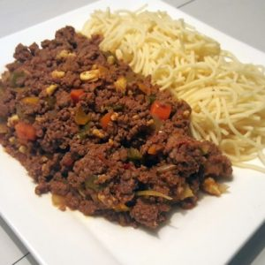 High Protein Meal Spaghetti Bolognese Groot (650gr)-0