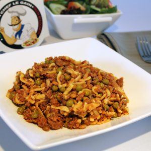 High Protein meal ON-THE-GO - Pasta Bolognese (geen koeling nodig) (400gram)!-0