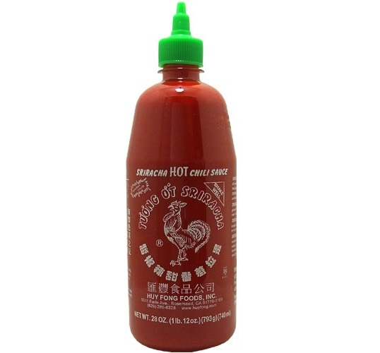 Sriracha hot chili (extra groot: 740ml)-0
