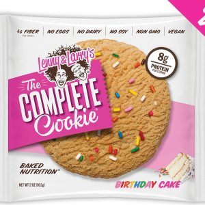 Protein Cookie Lenny & Larry's - Birthday Cake (16gr eiwit, 8gr vezels)-0