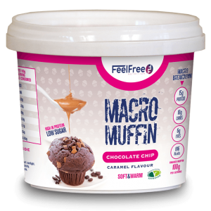 Macro Muffin - Chocolate Chip Caramel Flavour - 15gr eiwit-0