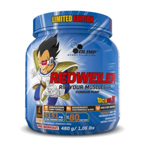 REDWEILER - DRAGON BALL Z LIMITED EDITION OLIMP (2 smaken)-0