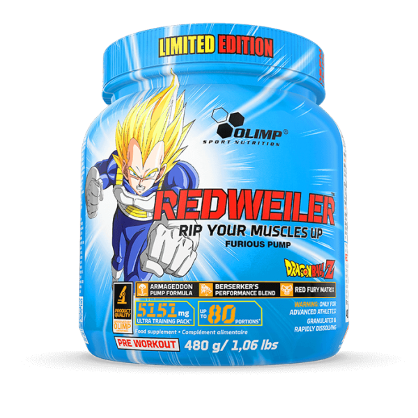 REDWEILER - DRAGON BALL Z LIMITED EDITION OLIMP (2 smaken)-57092